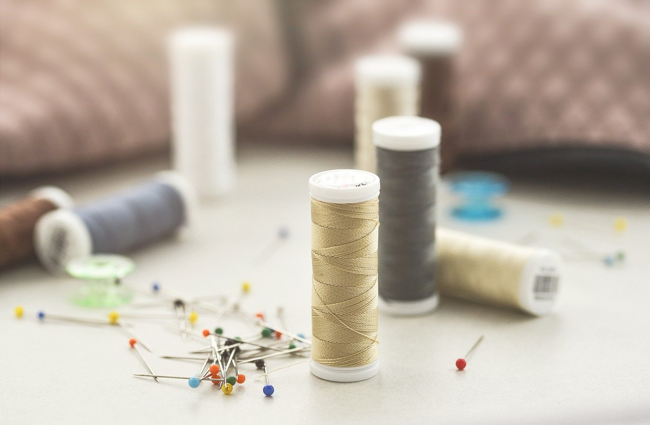 sewing, thread, craft